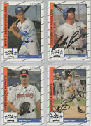 Signed 1992 Play Ii South Atlantic League All Stars 33 Different W Andy Pettitte