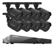 Laview 16 Channel Dvr 1tb Security System And 8 Hd 1080p Indoor / Outdoor Cameras