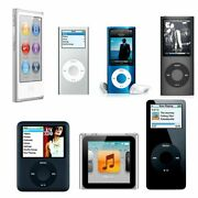 Apple Ipod Nano 1st, 2nd, 3rd, 4th, 5th, And 6th Generation 2gb, 4gb, 8gb, And 16gb