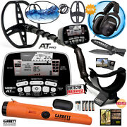 Garrett At Pro Metal Detector With 2 Coils Headphones Pro-pointer At And Digger