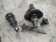 Massey Harris 44 Mh Tractor Complete Transmission Drive Gears + Pinion Assembly
