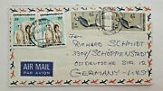 Burma Cover Airmail To Schöppenstedt West Germany 1977