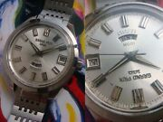 Orient Overhaul Swimmer 100 Jewels Automatic Authentic Mens Watch Works