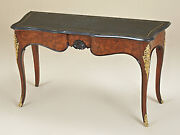 Lf35590 Maitland Smith Waxstone Top French Louis Xiv Console Hall Table New