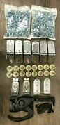46 Piece Todco Door Repair Kit W/ 2 Hinges, Rollers And Lock And Keeper