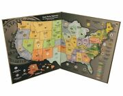 State Quarter Map - Us State Quarter Collection Single
