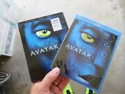 Avatar Blu Ray + Dvd James Cameron W/ Case And Sleeve
