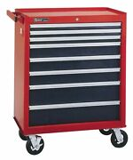 Genius Tools 8 Drawer Roller Cabinet 850 X 495 X946mm - Ts-796