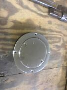 Vintage Boat Cowl Vent Base And Threaded Cap Chrome Plated Bronze Perko