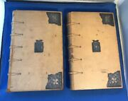 Antique Silver Decorated The Holy Bible Translated Out Of The Oroginal Tongues