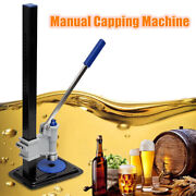 Manual Beer Bottle Capper Capping Machine For Home Brew Soft Drinks Cap Usa