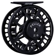 Cnc Machined Large Arbor Fly Fishing Reel 5/6 7/8 Wt Fishing Reel Trout Bass