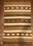 Navajo Vintage Vegetal Rug- Crystal Trading Post Gorgeous Colors +condition