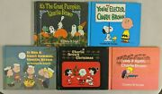 Charlie Brown Books Lot Of 5 1st Print 1965-1973 Charles M Schulz Rare Oop