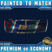 New Painted To Match - Front Bumper Cover Replacement For 2008-2013 Infiniti G37