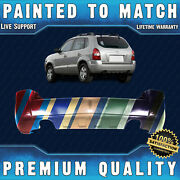 New Painted To Match - Rear Bumper Cover For 2005-2009 Hyundai Tuscon 2.7l 05-09