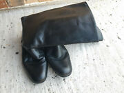 German Officer Chrome Boots For Soviet Army Riding Size 44