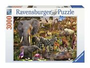 Ravensburger African Animals 3000 Piece Jigsaw Puzzle For Adults – Softclick ...