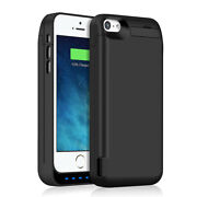 [upgraded] 4800mah External Power Battery Charger Pack Case For Iphone 5 5s 5c