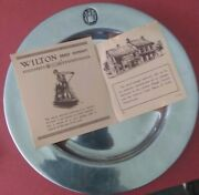 Wilton Armetale Columbia Rwp Colonial Vintage,crest,error Plate,collector's Item