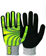 6 Pairs Of Granberg 115.9007-7. Cut 5 Gloves With Impact Protection Size 7