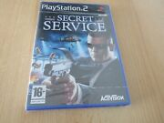 Ps2 Secret Service Uk Pal, New And Sony Factory Sealed