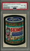 1973 Topps Wacky Packages Skimpy 1st Series Tan Back Psa 6 Ex-mt Vintage Card