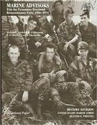 Marine Advisors With The Vietnamese Provincial Reconnaissance Units 1966-1970