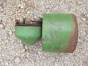 John Deere Jd Tractor 90 Degree Belt Pulley Drive M1785t And Steel Pulley And Shims