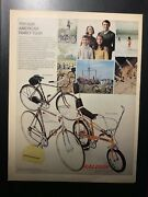 Raleigh Sports Professional Mk Ii American Family Tour Bicycles Bikes Vintage Ad