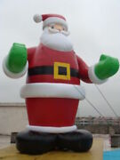 26ft 8m Inflatable Advertising Promotion Giant Christmas Santa Claus With Blower