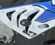 Bmw S1000rr 2012 Randg Racing Aero No-cut Crash Protectors Cp0308bl Black