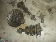 Massey Harris 44 Mh Tractor Complete Transmission Drive Gears Set + Pinion