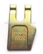 New Auger Outside Wisdom Gage Tooth Bolt On Teeth Bit Attachment Premier Bobcat