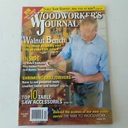 Woodworkers Journal February 2012 Volume 36 Number 1