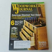 Woodworkers Journal May/june 2008 Volume 32 Number 3