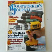Woodworkers Journal May/june 2002 Volume 26 Number 3