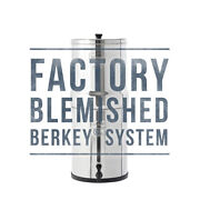 Blemished Berkey Water Filter Systems - Travel Big Royal Imperial Crown Go