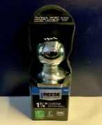 New Reese Towpower, 1-7/8 Chrome Hitch Tow Ball, One Wrench Tightening System