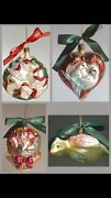 Waterford 12 Days Of Christmas Holiday Heirlooms Ornaments Complete Set Of 12