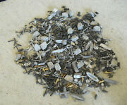 Big Lot Of Vintage Lead Model Ship Parts - Small Boats Cannons Planes Trim 3