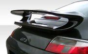 Duraflex Gt-3 Look Wing Spoiler For 99-04 911 Carrera 996 2dr Coupe
