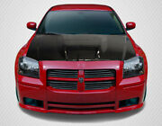 Carbon Creations Srt Look Hood - 1 Piece For 2005-2007 Magnum