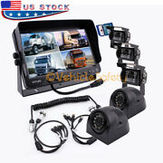 The 5th Wheel Camera Monitor System With Dvr Recorder Backup Camera System