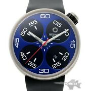 Meccaniche Veloci Automatic W128n272 Blue Menand039s Watch From Japan [b0630]