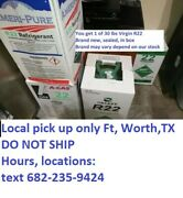 R22 R-22 Refrigerant 30 Lb New Sealed Virgin Local Pickup Only