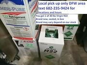 R22 R-22 Refrigerant 30 Lb Ameri-pure New Sealed Virgin Local Pickup Only