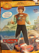Childs Disney Pixar Cars Size M7-8 Tow Mater Costume Padded Muscle Jumpsuit
