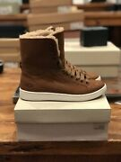 Women's Ugg Starlyn Leather Shoes Boots - Brown Size 7