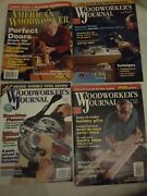 Woodworkers Journal 1998 99 01 No. 6 1 3 And American Woodworker 1998